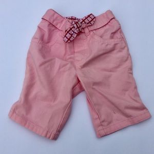 Cherokee Pants, Baby girl Pants, size 3M, pink